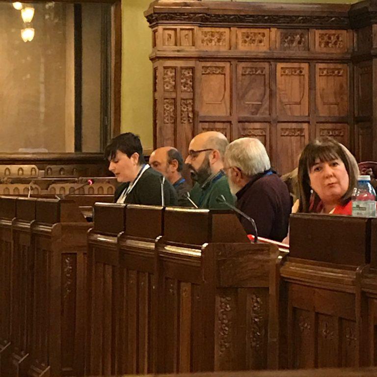 Comparecencia en la Comisión de Hacienda de la Junta General sobre los presupuestos de 2018